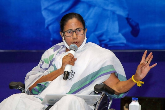 West Bengal: Mamata Banerjee during poll campaign.
