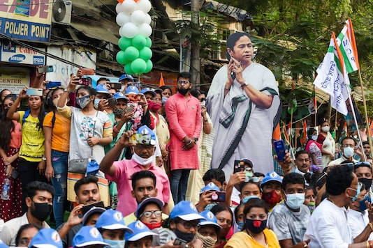 West Bengal Assembly Election Results: TMC supporters during road show. (File Photo)