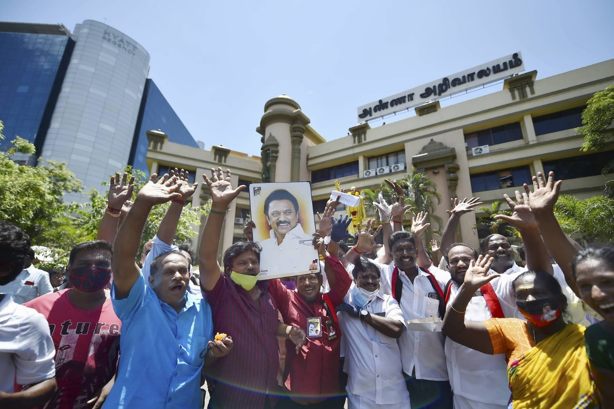 DMK Supporter Cuts off Part of Her Tongue to Fulfill Vow After MK Stalin's Victory in Assembly Polls