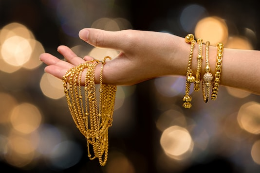 In the national capital, 10 grams of 22-carat gold is worth Rs 45,580