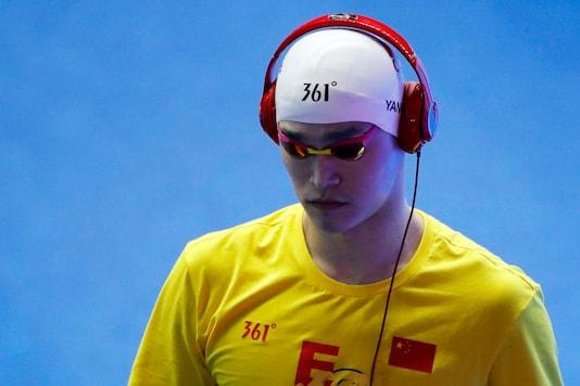 Sun Yang (Photo Credit: Reuters)