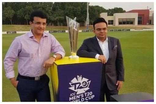 Sourav  Ganguly & Jay Shah