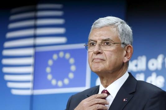 File photo of Volkan Bozkir. (Reuters)
