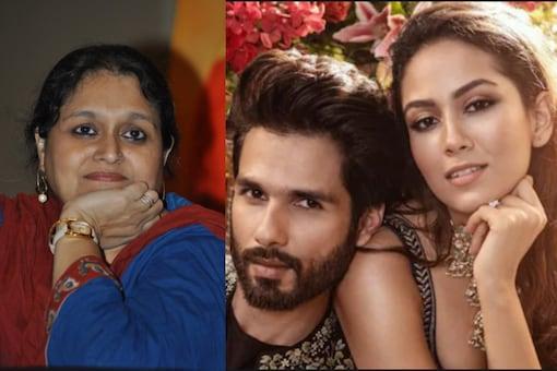 Supriya Pathak, Shahid  and Mira Kapoor