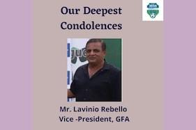 Senior Vice President of Goa Football Association Lavinio Rebello Passes Away