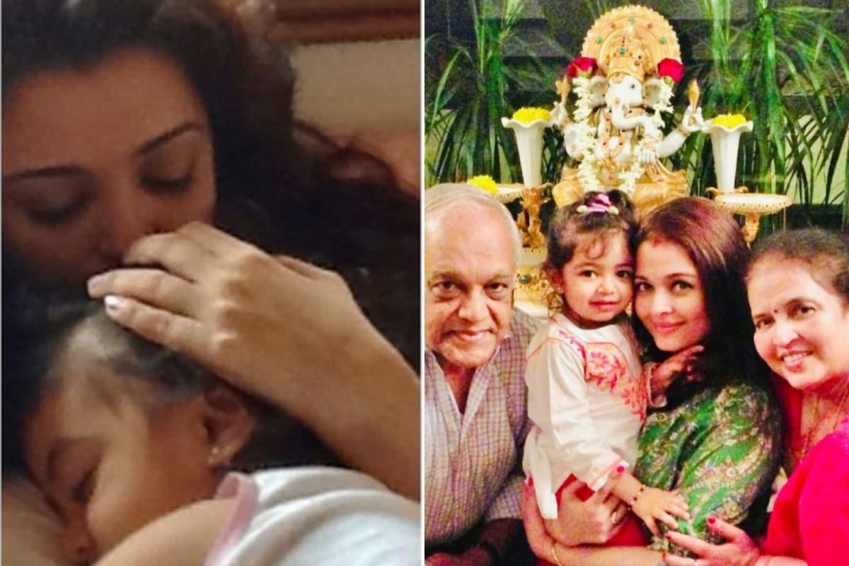 Aishwarya Rai Bachchan Cuddles with Aaradhya in This Adorable Throwback Pic