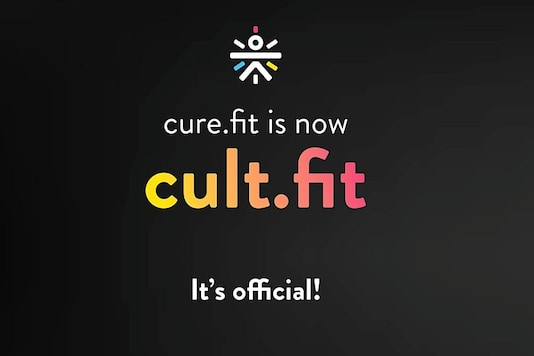 Cure.fit app is now Cult.fit