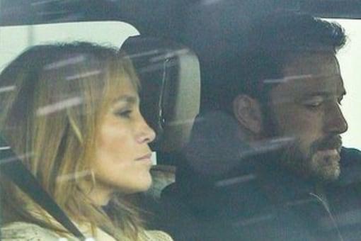 Hollywood stars Jennifer Lopez and Ben Affleck