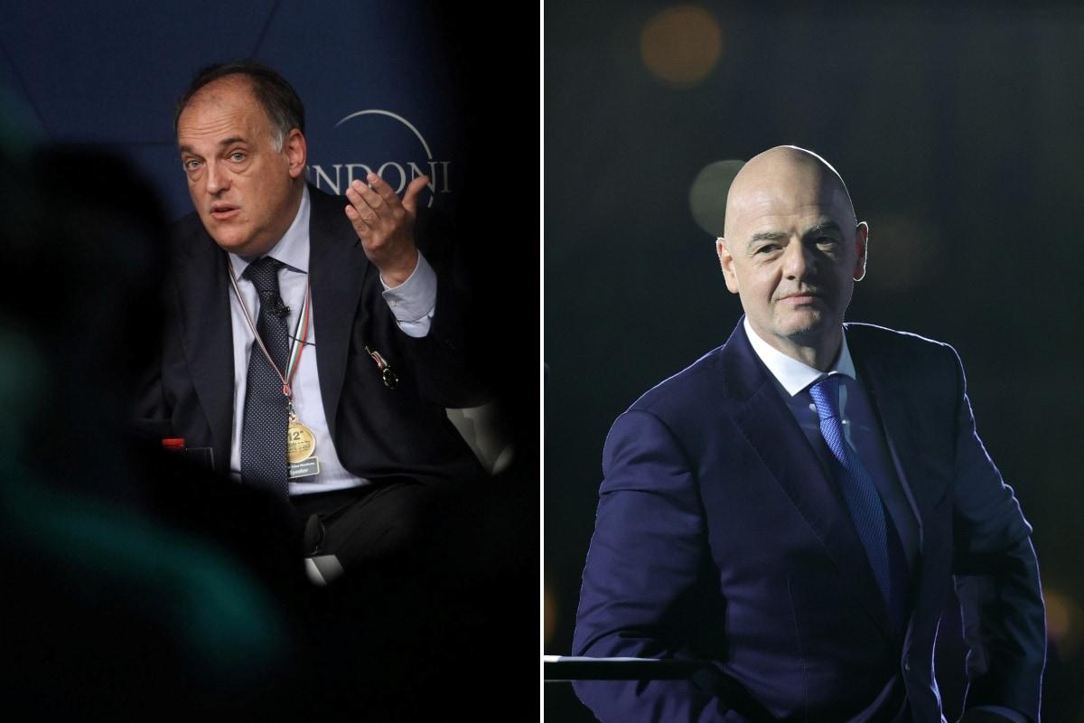 La Liga President Javier Tebas Claims FIFA Boss Gianni Infantino is Behind European Super League