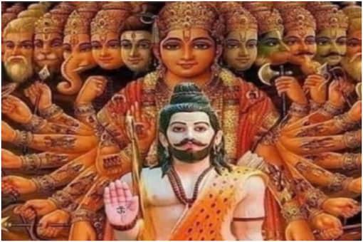 Lord Parshuram is said to be the sixth incarnation of Lord Vishnu.