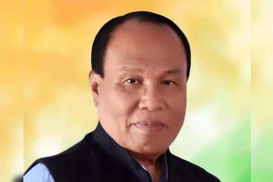 File photo of late Manipur BJP chief Tikendra Singh.