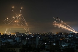 Israel Launches Air Raids in Gaza in Response to 'Arson Balloons' in 1st Major Flare-up Since May