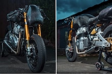 Royal Enfield Continental GT 650 Transformed Into a Beast In Goblin Work Garage Modification