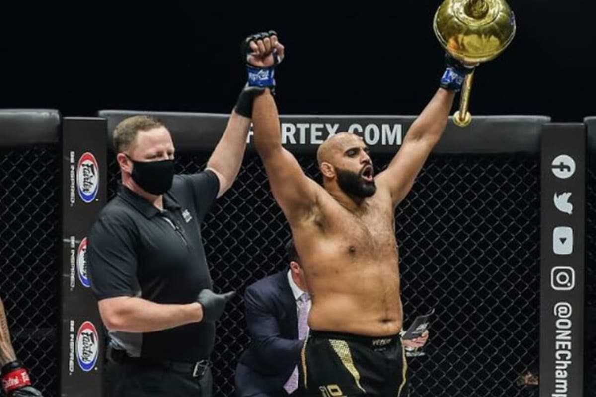 Arjan Bhullar, a first Indian fighter to become MMA World Champion