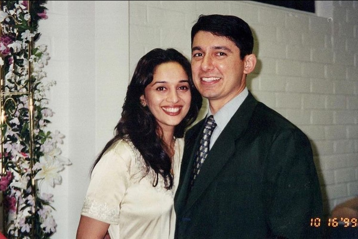 Shriram Nene Shares Throwback Picture With Madhuri Dixit From the Day Before Their Wedding