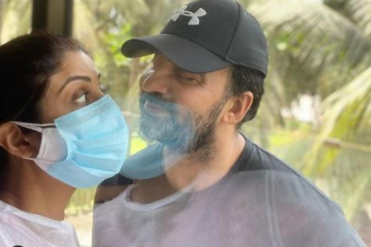 Shilpa Shetty Celebrates 'Love in the Time of Corona' With Husband Raj Kundra