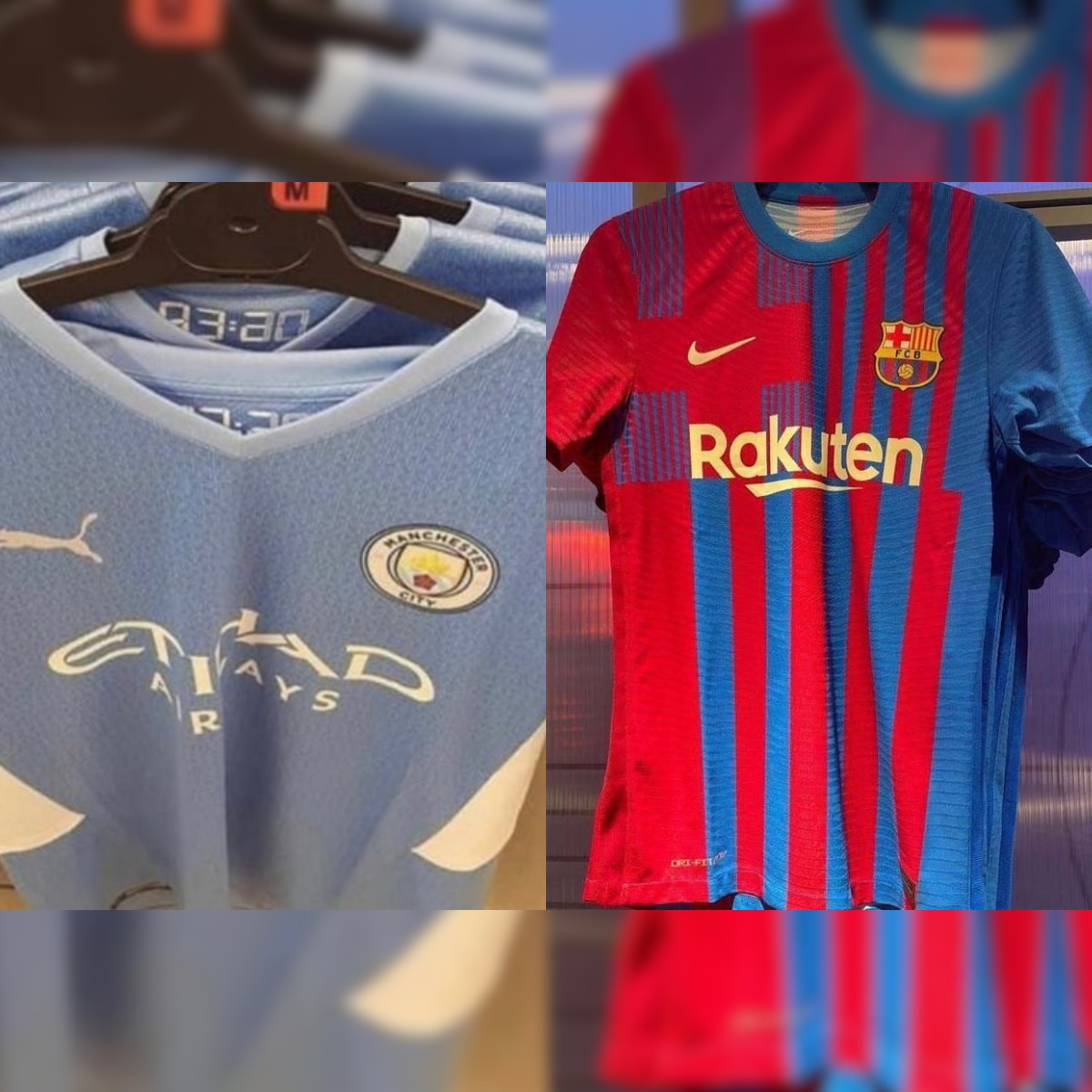 Manchester City Liverpool To Real Madrid And Barcelona A Look At Leaked Kit Designs Leaked So Far Ahead Of New Season
