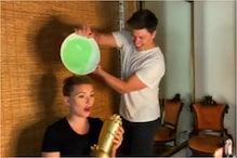 Scarlett Johansson Gets Slimed by Husband Colin Jost During Award Acceptance Speech