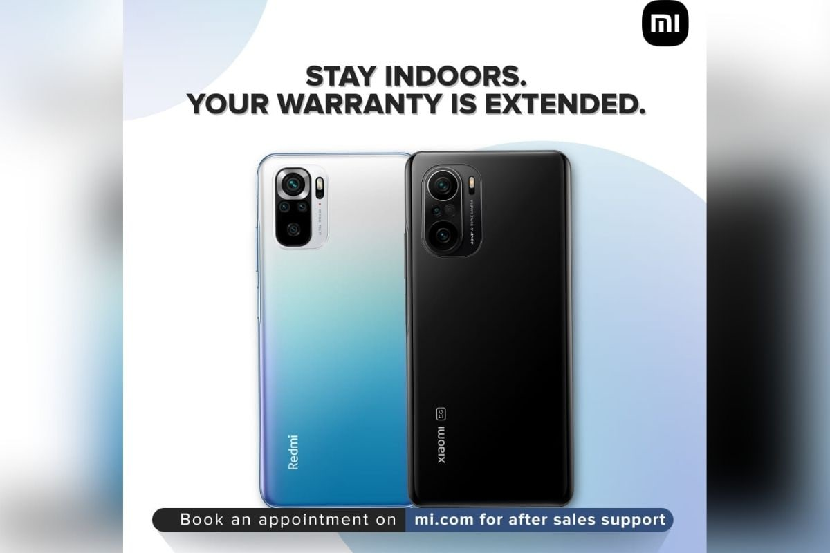 Xiaomi India Extends Product Warranty by Two Months Amid COVID-19 Lockdowns
