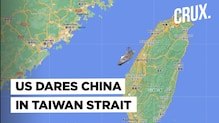 US And China Lock Horns In Taiwan Strait, Beijing Outraged By American Warship's