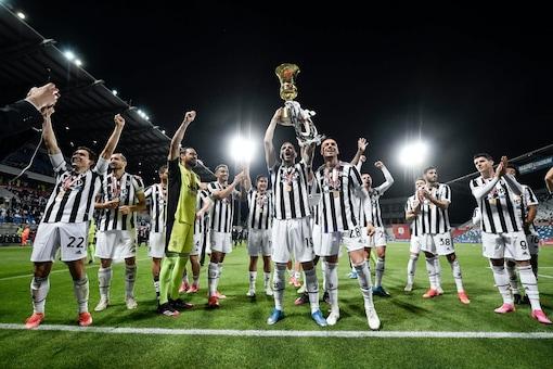 Juventus win Coppa Italia (Image: Twiiter)