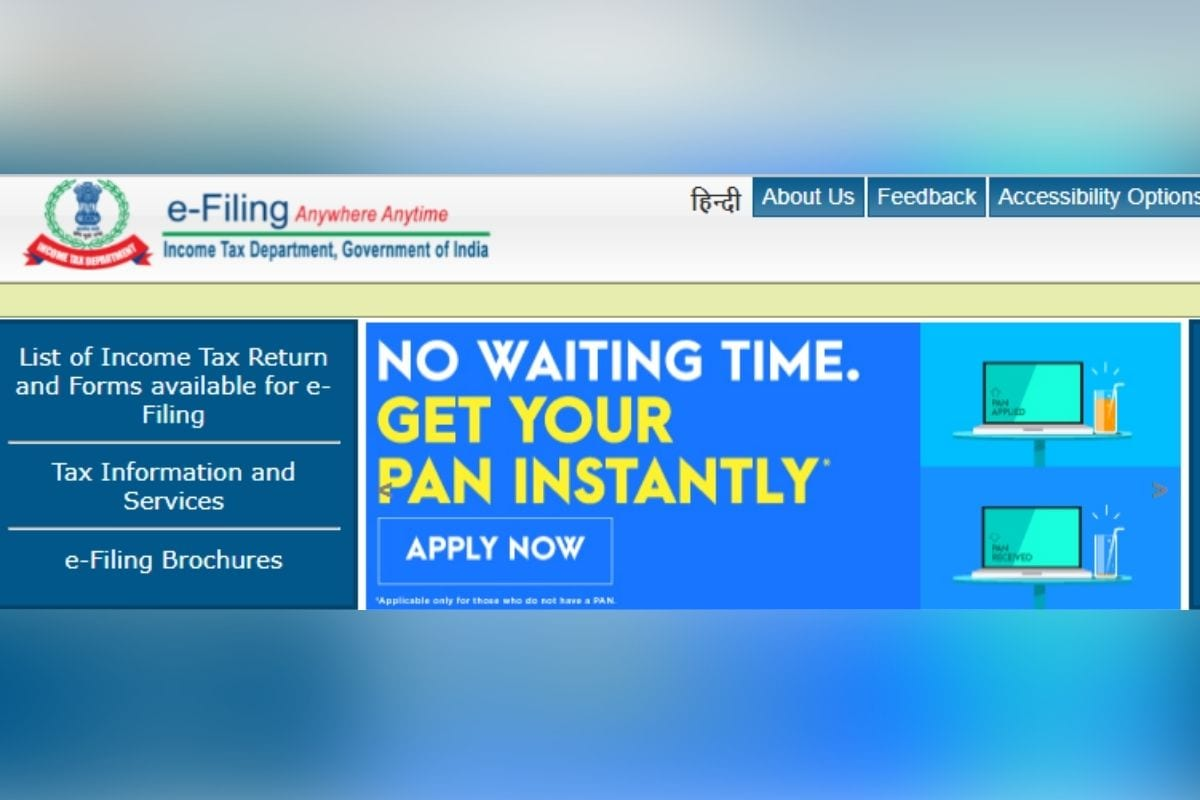 Income Tax Dept to Launch New E-Filing Website for Taxpayers on June 7