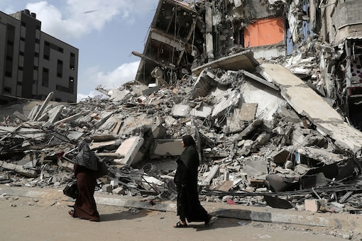 At least 254 people were killed in Gaza during this latest war, including 67 children and 39 women, according to the Gaza health ministry.