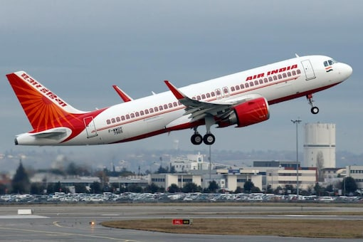 File photo of Air India plane taking off. (Reuters)