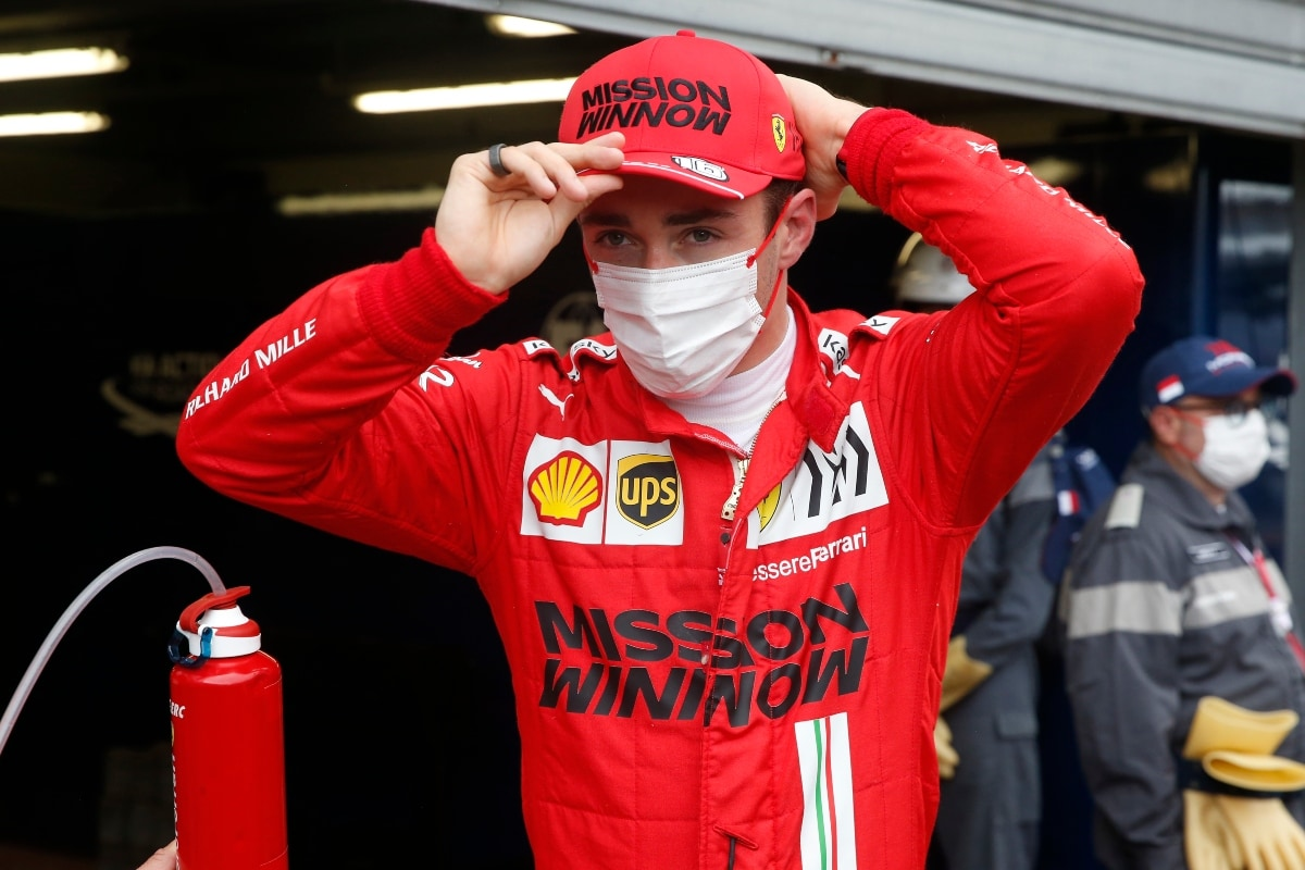 Ferrari Say Monaco Grand Prix Pole-sitter Charles Leclerc Out of Race After Car 'Issue'