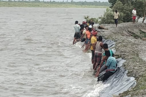 File picture of a  Sundarbans island as cyclone Yaas hit last month