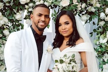 West Indies Cricketer Nicholas Pooran Ties The Knot with Fiancée Alyssa Miguel   See Picture