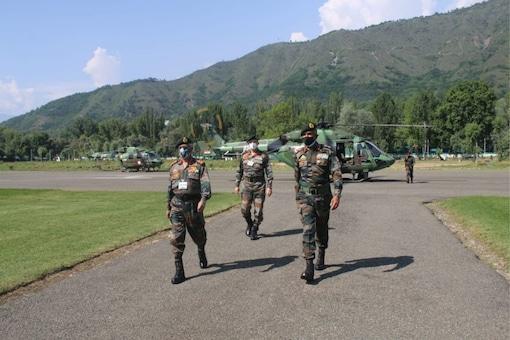 Line of Control (LoC) in Kashmir.
