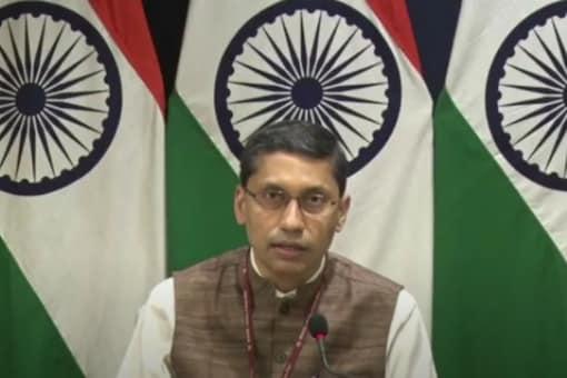 File photo of MEA spokesperson Arindam Bagchi.
