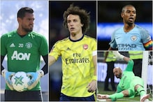 Fernandinho, David Luiz, Sergio Romero and Other Players Released by English Premier League Clubs, In Pics