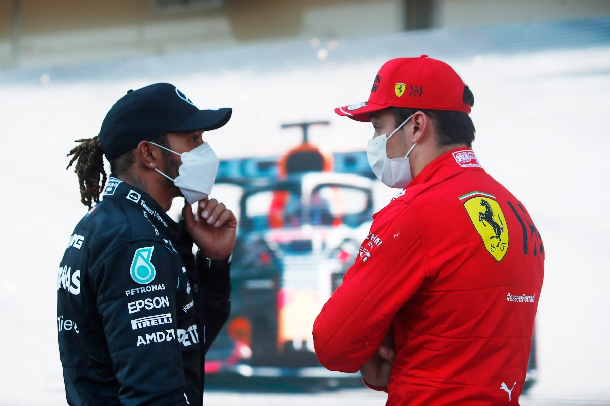 Lewis Hamilton Hopes to Fight it Out with Leclerc, Verstappen