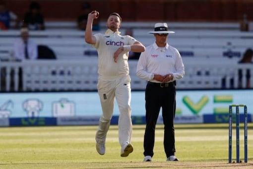 England bowler Ollie Robinson. (File/AFP Photo)