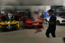 Lamborghini Owner in China Blows Up His Supercar Trying to Cook Kebab Using Exhaust Flames