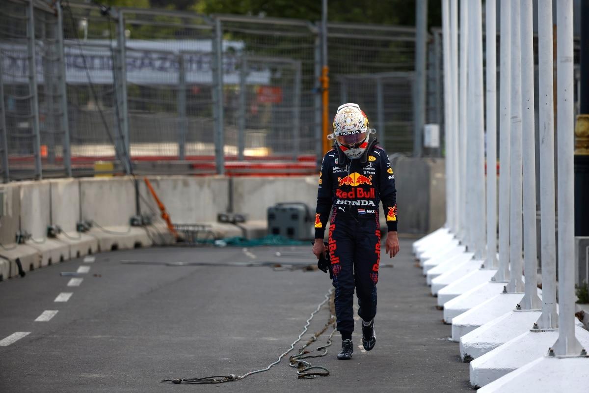 Deflated Max Verstappen Rues Azerbaijan GP Blowout