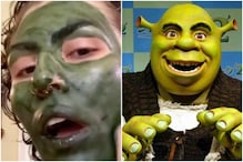 Woman Tries to Relax With 'Green' Face Mask Before Interview, Ends up Looking Like Shrek