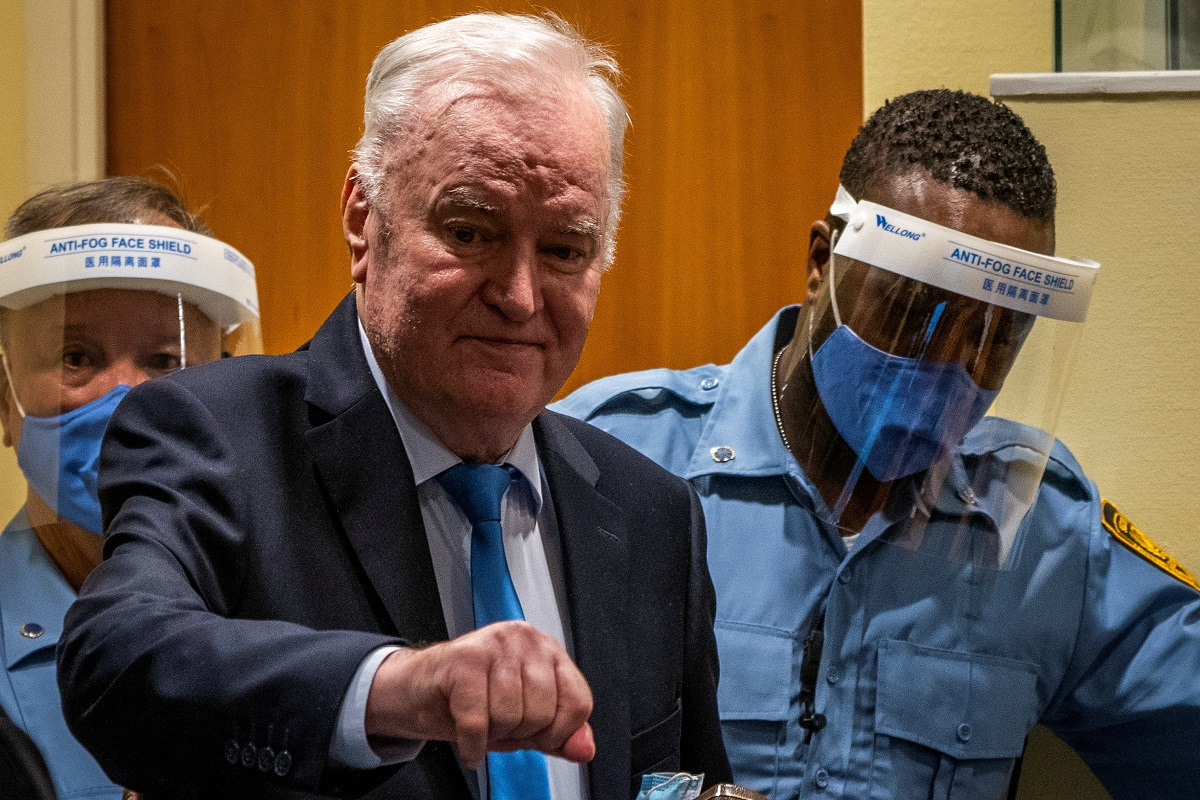 Genocide Conviction Upheld Against Former Bosnian Serb Military Commander Mladic thumbnail