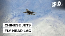 Dozens of Chinese Fighter Jets Fly Opposite Eastern Ladakh Border as India Watches