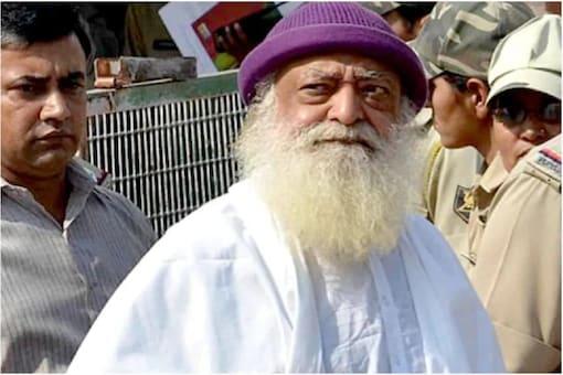 File photo of jailed Asaram Bapu.