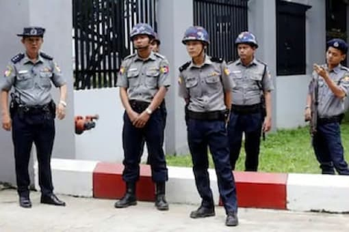 File picture of Singapore police