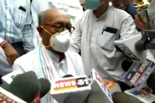 Congress leader Digvijaya Singh.