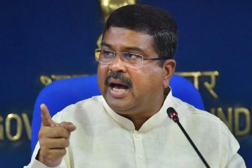 File photo of Union Minister Dharmendra Pradhan.