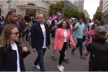 'Protect Our Trans Community': Kamala Harris Walks LGBTQ+ March in Washington DC