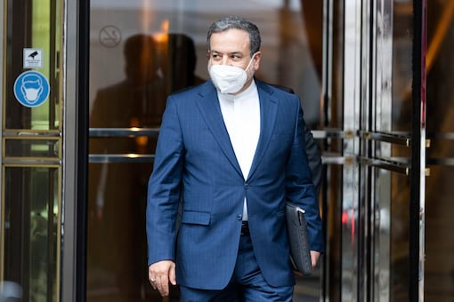 Iran's Deputy Foreign Minister Abbas Araghchi leaves the hotel where closed-door nuclear talks take place in Vienna, Austria. (AP)