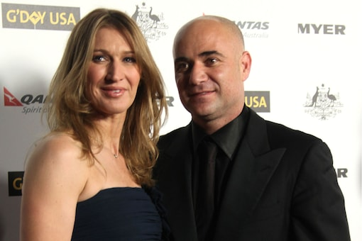 In 2001, Steffi Graf tied the knot with former world No. 1 Andre Agassi. (Image: Shutterstock)