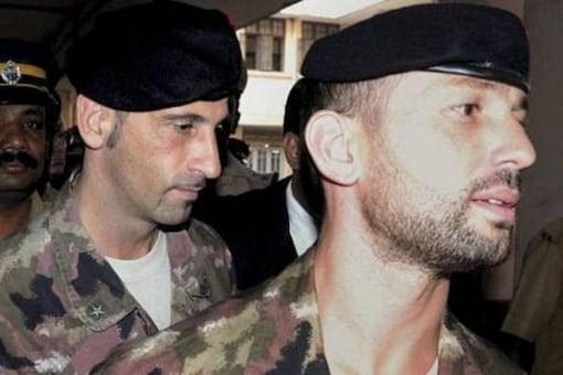 Italian marines  Massimilano Latorre and Salvatore Girone. (PTI File)