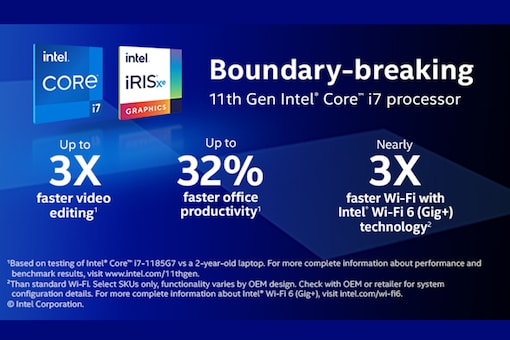 Imagine What You Can Do with 11th Gen Intel® Core™ Processor-based Laptops